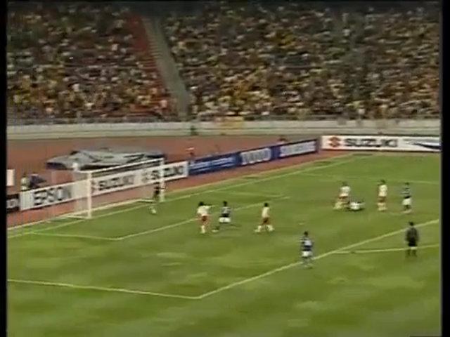 Tấn Trường bắt bóng hụt ở bán kết AFF Cup 2010