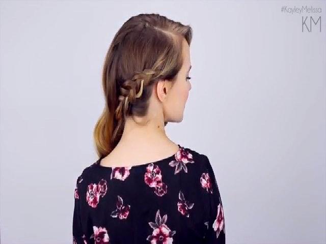 3 kiểu tóc xinh yêu dễ thực hiện