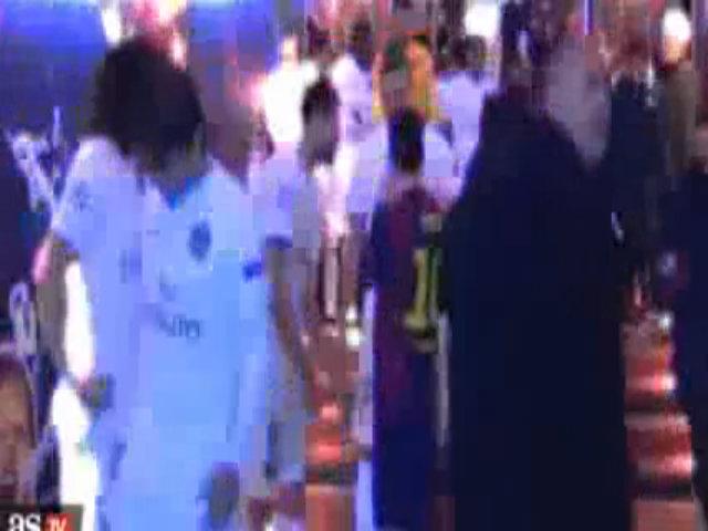 Messi cười đùa cùng Ibrahimovic và Thiago Motta