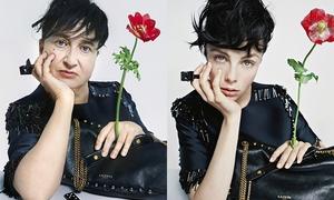 Nữ stylist bắt chước vui nhộn theo quảng cáo thời trang