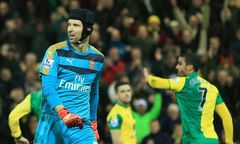 Norwich City 1-1 Arsenal