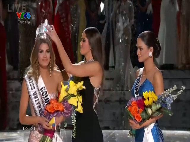 Philippines đăng quang Hoa hậu Hoàn vũ 2015