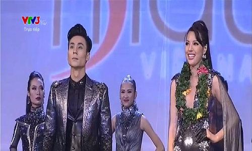 Khả Trang và Mai Tuấn Anh đoạt giải Vàng Siêu mẫu Việt Nam
