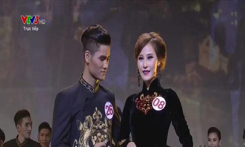 Siêu mẫu Việt Nam 2015: Phần thi áo dài