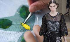 Quá trình kỳ công tạo nên váy áo Chanel Couture