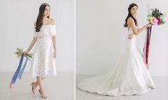6 kiểu váy cưới từ cổ điển tới hiện đại năm 2016