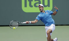 Novak Djokovic 2-0 David Goffin