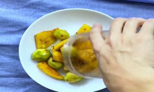 Hoa quả lắc ngon, giòn, ứa nước miếng
