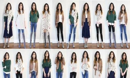 20 set đồ từ 10 món trang phục cơ bản