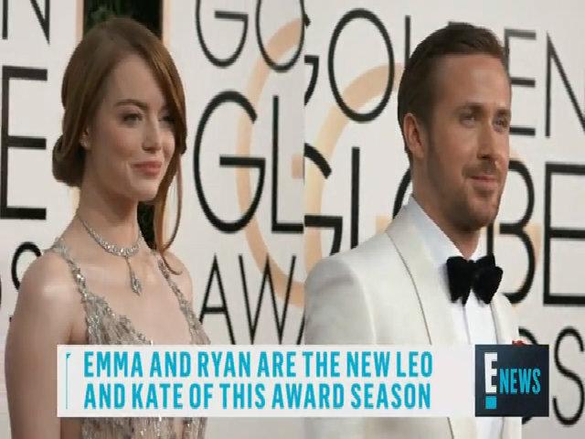 Tình cảm giữa Emma Stone và Ryan Gosling được ví như Leo và Kate