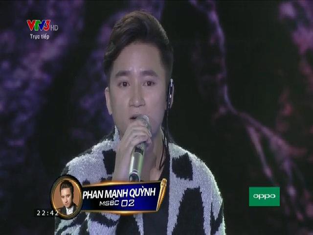 Phan Mạnh Quỳnh hát 'Có chàng trai viết lên cây'