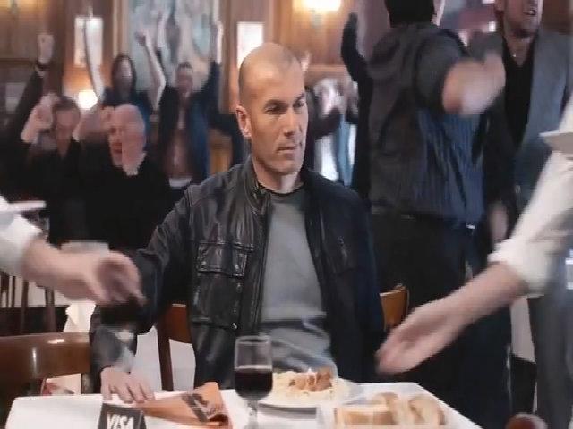 Zidane và Cannavaro đóng quảng cáo
