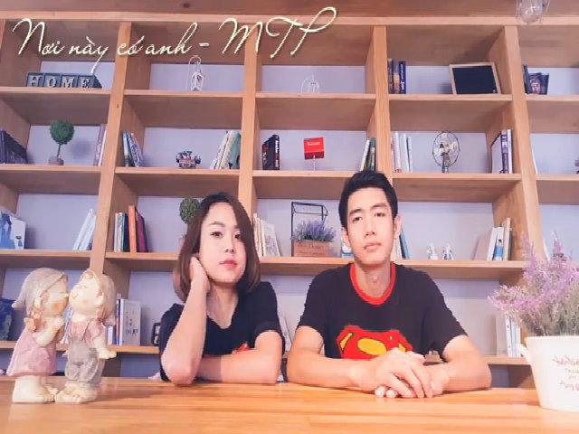 Quang Đăng, Thái Trinh diễn tả cảm xúc với 'Nơi này có anh'