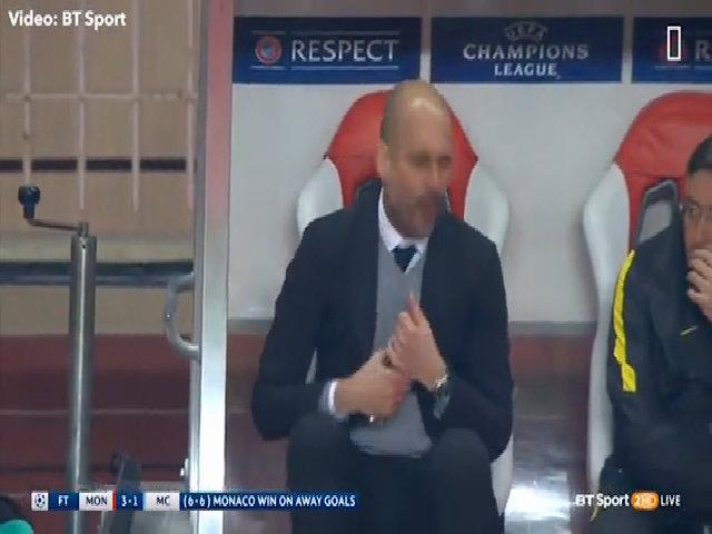 Guardiola 'như kẻ điên' vì trận thua lịch sử của Man City