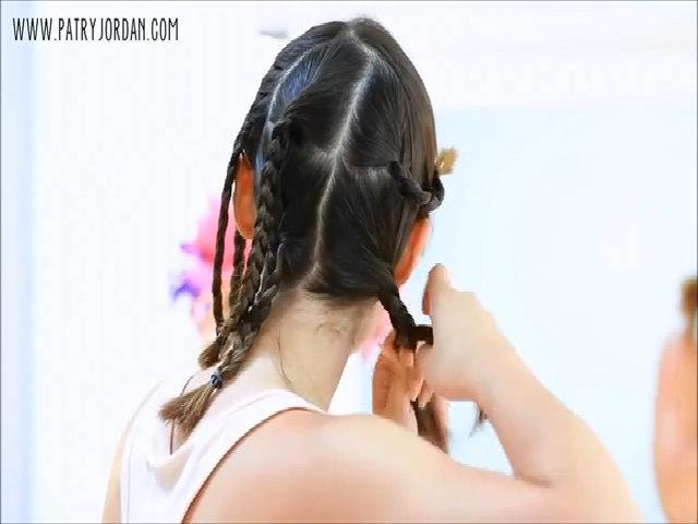 Tết tóc tạo sóng xoăn không cần dùng nhiệt