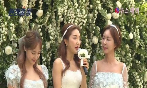 Bada đẹp rạng ngời ngày cưới