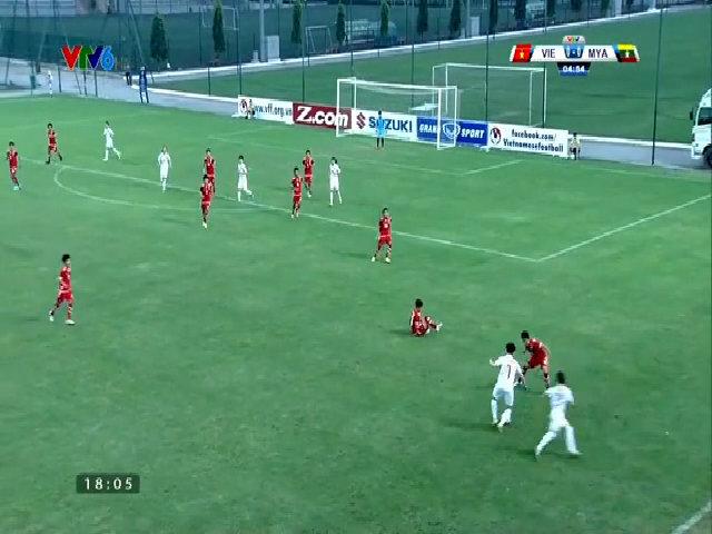 Nữ Việt Nam 2-0 Myanmar