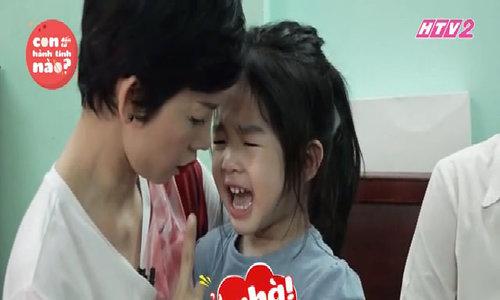 Con gái Xuân Lan khóc lóc