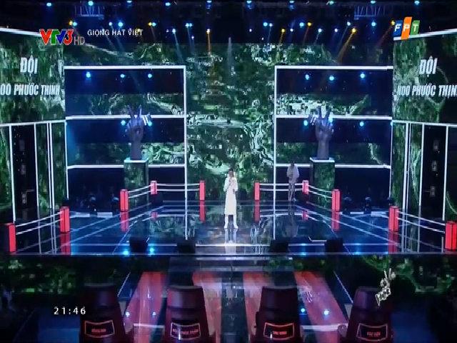 Minh Trí hát 'Lá biêu bông'