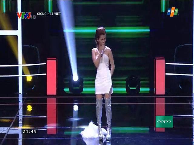 Thanh Nga thể hiện ca khúc 'Nỗi đau ngự trị'