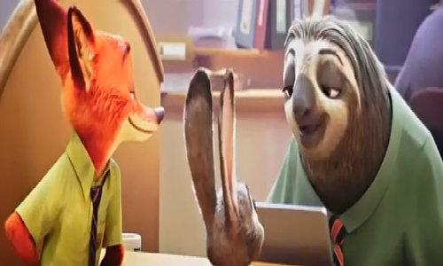 Nhân vật lười trong phim 'Zootopia'