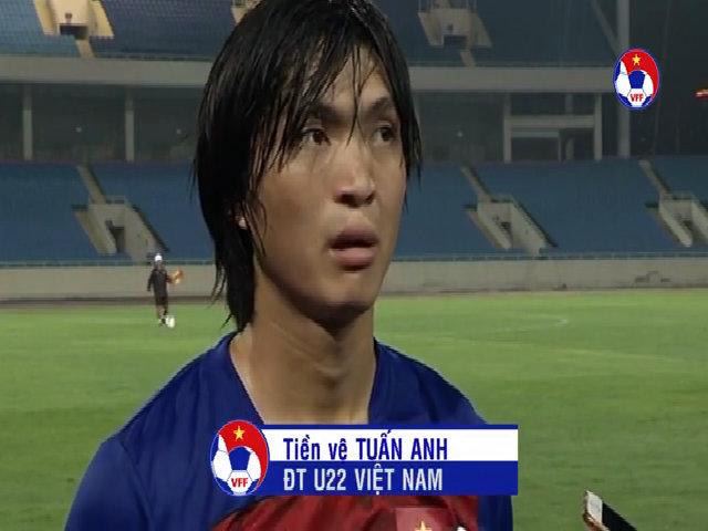 Tuyển Việt Nam tập trong mưa rào chuẩn bị cho cuộc đối đầu U20 Argentina