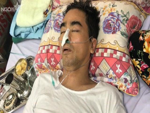 Diễn viên Nguyễn Hoàng hôn mê do suy hô hấp