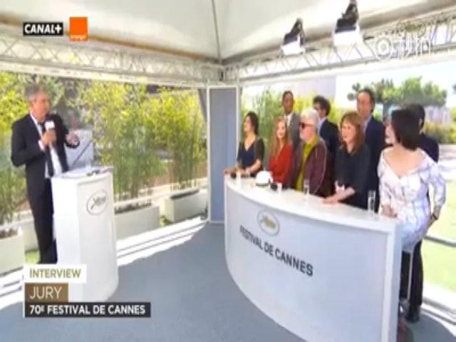 Phạm Băng Băng giao lưu cùng các giám khảo của Cannes