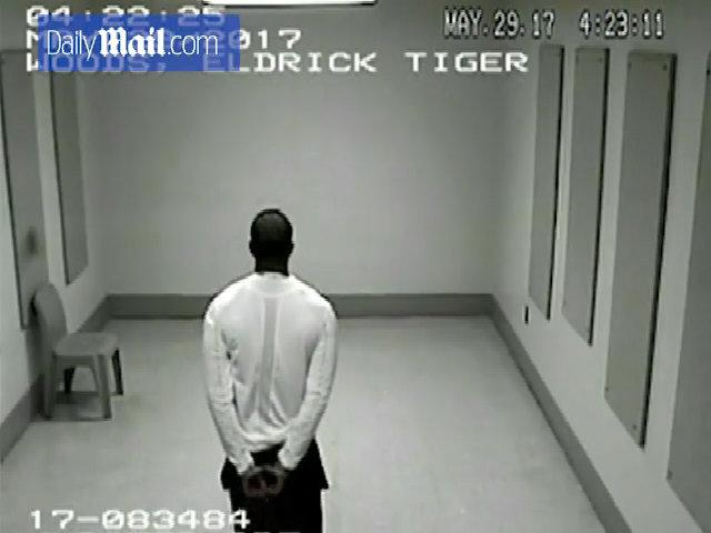 Hình ảnh gây sốc về Tiger Woods được cảnh sát công bố