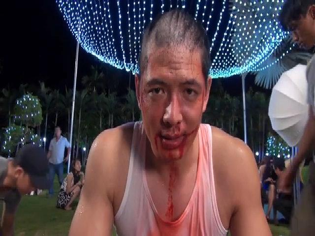 Bình Minh bị cạo trọc tóc vì Hoa hậu Diễm Hương