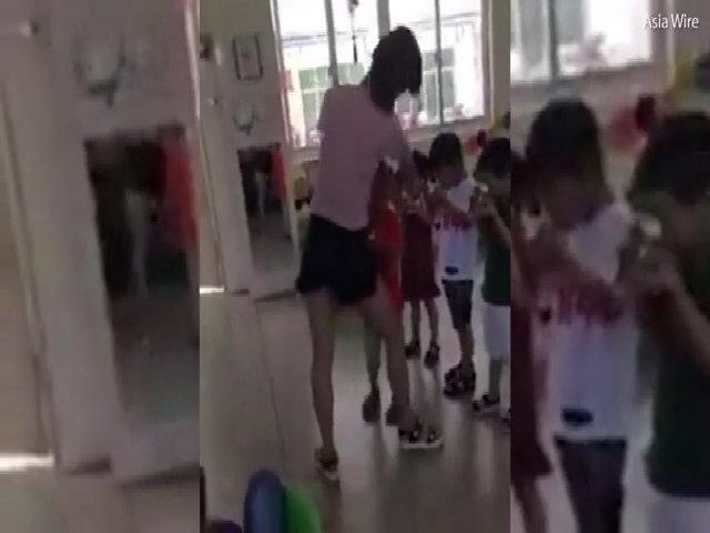Giáo viên mầm non dùng băng dính dán miệng trẻ vì tội ăn chậm