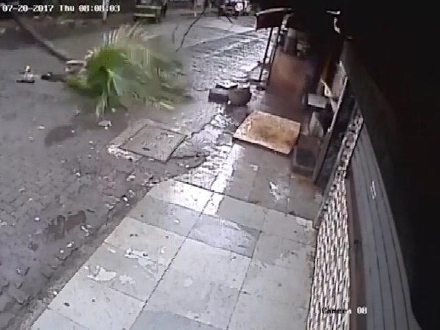 Nữ MC Ấn Độ tử vong do cây dừa bật gốc, đổ vào người