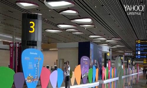 Nhà ga T4 hiện đại ở sân bay Changi
