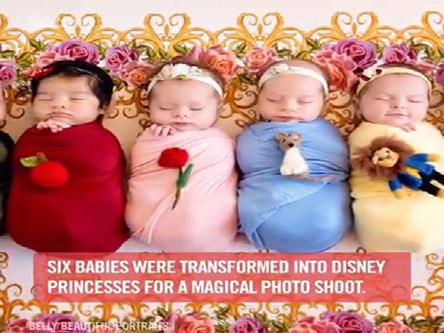 6 tiểu công chúa Disney khiến mọi người mê mẩn