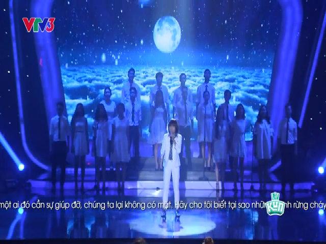 Thiên Khôi hát 'Tell me why'
