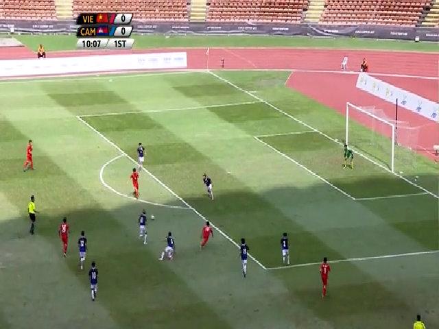 Việt Nam 4-1 Campuchia