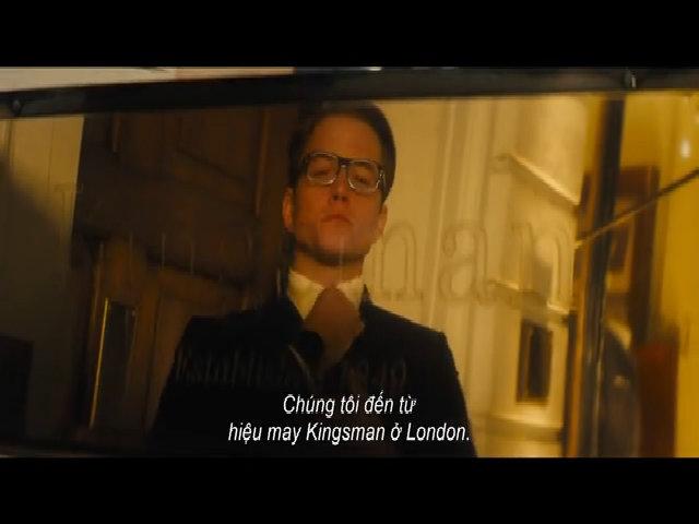 Trailer phim 'Kingman: Tổ chức hoàng kim'