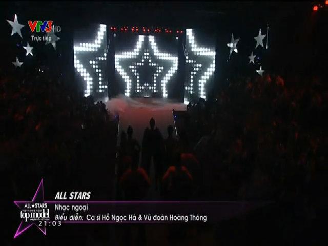 Hồ Ngọc Hà hát 'All Stars'