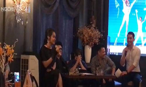Vũ Hạnh Nguyên kể về chuyện giận dỗi Nguyễn Đức Cường