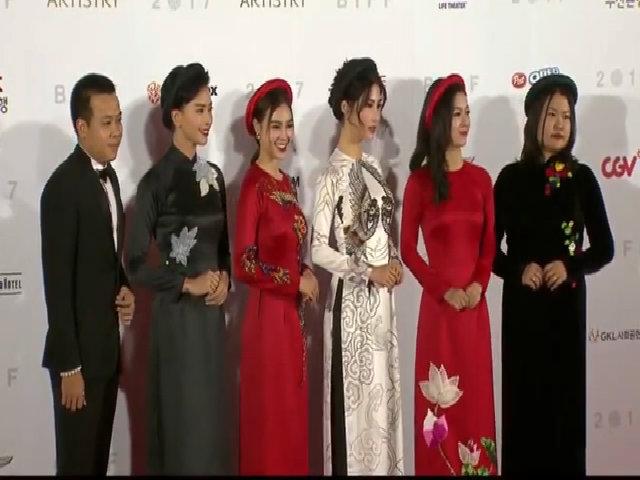 Ngô Thanh Vân cùng dàn mỹ nhân 'Cô Ba Sài Gòn' khoe sắc ở Hàn Quốc