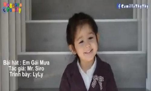 Cô bé lai Việt Nam - Thụy Sĩ ngọng nghịu hát bài 'Em gái mưa'