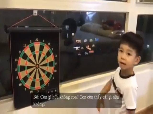 Ông bố Hà Nội kiên trì dạy bé 3 tuổi nói tiếng anh như gió
