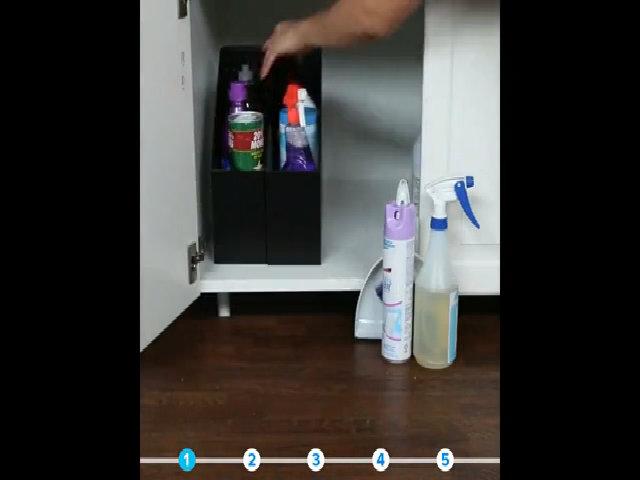 Cách trữ nhiều đồ trong căn bếp chật chội