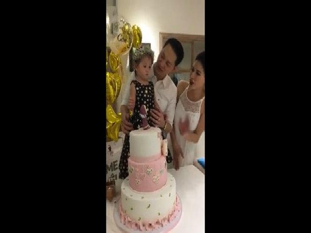 Sinh nhật 2 tuổi của con gái Trang Trần