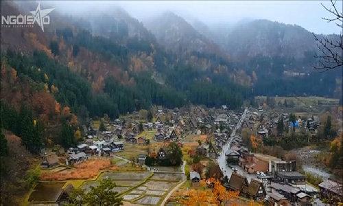 Ngôi làng cổ Shirakawa