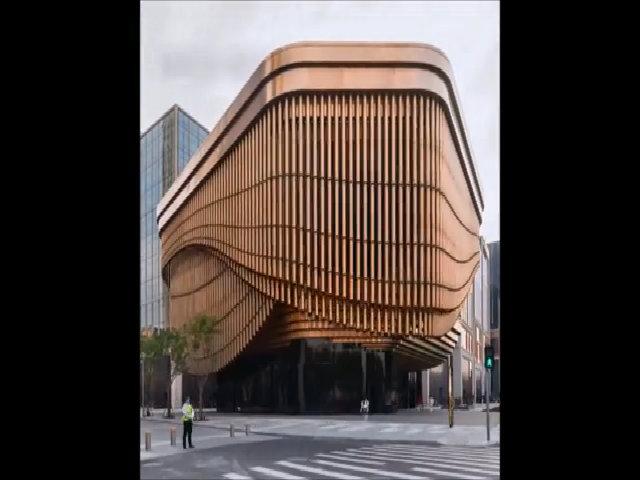 Trung tâm triển lãm 'biết động đậy' ở Trung Quốc