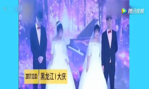 Anh em sinh đôi cưới chị em sinh đôi khiến họ hàng, khách mời đều nhầm lẫn