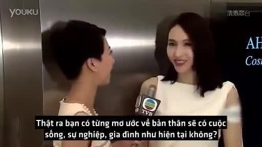 Lê Tư chia sẻ về gia đình trong phỏng vấn năm 2014