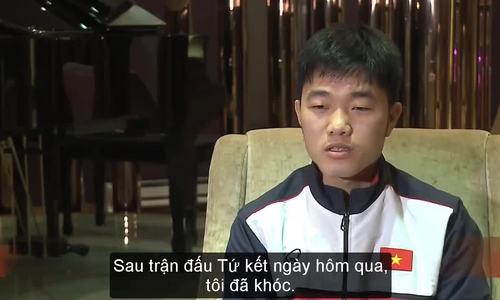 Xuân Trường trả lời phỏng vấn AFC bằng tiếng Anh
