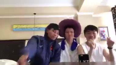 Xuân Trường, Văn Thanh hát cover 'Làm vợ anh nhé baby'